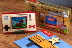 任天堂 nintendo game & watch super Mario bro 超級瑪利歐兄弟 35 週年紀念機