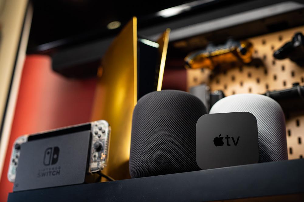 Apple TV 4K 2021 ARC eARC HomePod 音訊回傳通道 HDMI PS4 PS5 Switch Xbox