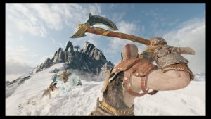 PS4 God of War 戰神 戰鬥畫面